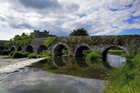 The 13 Arch Bridge over the River Funshion, Glanworth, County Cork, Ireland Fine Art Print