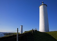 """The Metal Man Shipping Beacon, Great Newtown Head, Tramore, County Waterford, Ireland by Panoramic Images - 24"""" x 18"""""""