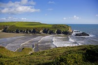 """Stradbally Strand, The Copper Coast, County Waterford, Ireland by Panoramic Images - 24"""" x 16"""""""