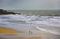 """Bunmahon Strand, The Copper Coast, County Waterford, Ireland by Panoramic Images - 24"""" x 16"""", FulcrumGallery.com brand"""