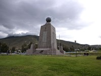 Middle of the World Monument, Mitad Del Mundo, Quito, Ecuador Fine Art Print