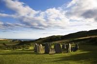 "Drombeg Stone Circle, Near Glandore, County Cork, Ireland by Panoramic Images - 36"" x 24"", FulcrumGallery.com brand"