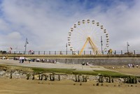 """The Big Wheel and Promenade, Tramore, County Waterford, Ireland by Panoramic Images - 24"""" x 16"""""""
