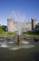 Kilkenny Castle - rebuilt in the 19th Century, Kilkenny City, County Kilkenny, Ireland Fine Art Print