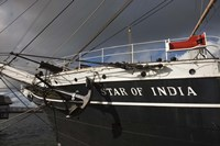 Maritime museum on a ship, Star of India, San Diego, California, USA Fine Art Print