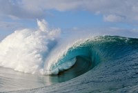 "Wave with Big Splash by Panoramic Images - 42"" x 28"", FulcrumGallery.com brand"