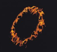 """Ring of Flames by Panoramic Images - 16"""" x 14"""""""