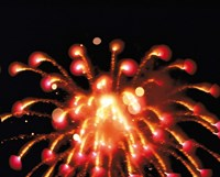 """Close up of Ignited Fireworks by Panoramic Images - 24"""" x 20"""""""