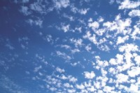 """Scattered clouds by Panoramic Images - 24"""" x 16"""", FulcrumGallery.com brand"""