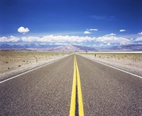 """Highway 6 passing through a desert, Esmeralda County, Nevada, USA by Panoramic Images - 24"""" x 20"""" - $36.99"""