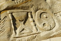 """Rock Carvings I by Panoramic Images - 24"""" x 16"""""""