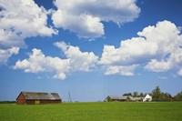 "Farmhouse in a field, Loksa, Lahemaa National Park, Tallinn, Estonia by Panoramic Images - 36"" x 24"", FulcrumGallery.com brand"