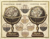 "28"" x 22"" Globe Pictures"