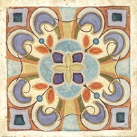 "Birds Garden Tile II by Daphne Brissonnet - 12"" x 12"""