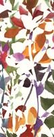 """Pink Garden Panel II White by Wild Apple Portfolio - 8"""" x 20"""""""