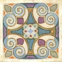 "Birds Garden Tile I by Daphne Brissonnet - 12"" x 12"" - $9.99"