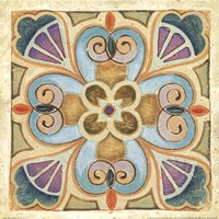 "Birds Garden Tile IV by Daphne Brissonnet - 12"" x 12"""