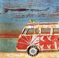 Santa Cruise Fine Art Print