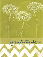 "Gratitude by Linda Woods - 12"" x 16"""
