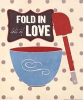 Fold In Love Framed Print