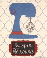 Spin Me Framed Print