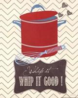 Whip It Good Framed Print