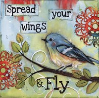 Spread your wings and fly Fine Art Print