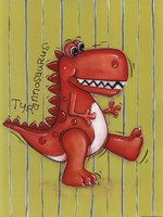 Red Rex Fine Art Print