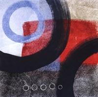 "Circles I by Linda Woods - 12"" x 12"""