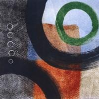 "Circles II by Linda Woods - 12"" x 12"""