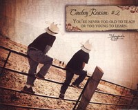 """Cowboy Reason II by Shawnda Craig - 10"""" x 8"""""""
