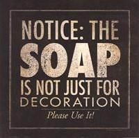"""Soap by Stephanie Marrott - 12"""" x 12"""", FulcrumGallery.com brand"""