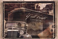 Y'all Freight Co Fine Art Print