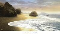 """39"""" x 22"""" Beach Ocean"""