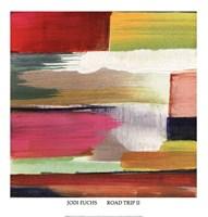 """Road Trip II by Jodi Fuchs - 20"""" x 21"""""""