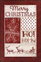 "Ho Ho Ho by Jennifer Pugh - 12"" x 18"", FulcrumGallery.com brand"