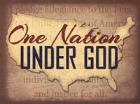 One Nation Under God Fine Art Print