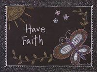 """Have Faith by Annie Lapoint - 12"""" x 9"""", FulcrumGallery.com brand"""