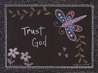 """Trust God by Annie Lapoint - 12"""" x 9"""""""