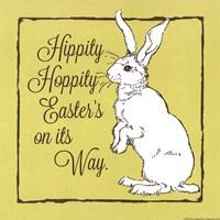"Hippity Hoppity by Stephanie Marrott - 12"" x 12"""