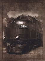 Diesel Electric Locomotive Fine Art Print