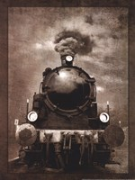 Steam Engine Locomotive Fine Art Print