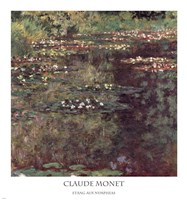 Etang aux Nympheas by Claude Monet - various sizes, FulcrumGallery.com brand