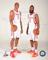 James Harden & Dwight Howard 2013-14 Posed Fine Art Print