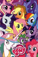 My Little Pony - Collage Wall Poster