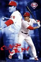 """Philadelphia Phillies™ - C Utley 14 - 22"""" x 34"""""""