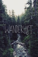 Wanderlust Rainier Creek Fine Art Print