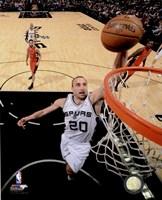 Manu Ginobili Spurs Basketball Fine Art Print