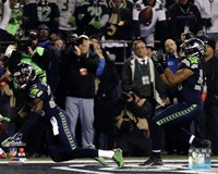 Malcolm Smith & Richard Sherman Game Winning Interception 2013 NFC Championship Game Fine Art Print
