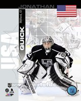 Jonathan Quick - USA Portrait Plus Fine Art Print